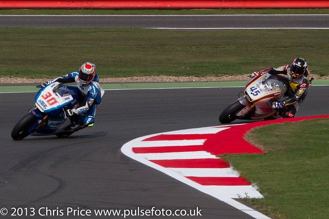 Takaaki Nakagami and  Scott Redding