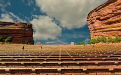 Red Rocks Open-Air Amphitheatre (wowography.com) Tags: park shadow red sky people orange usa foothills nature lines architecture clouds rural u2 landscape vanishingpoint colorado rocks exercise patterns amphitheatre denver boulder explore seats handheld redrocks beatles bigsky nik rockymountains iconic coors cardio bluff array rockformations shiprock lightroom sigma1020mm 20000views d90 sevenwondersoftheworld photoshopactions 30000views 10000views wowography 2013 40000views 4inarow morrisonco entertainmentvenues dfine2 johnbrisbenwalker colorefexpro4 wowographycom photoshopcc 388563 greaterthangatsbyactions