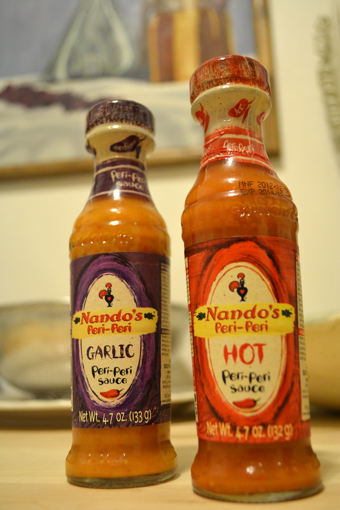 how to cook chicken with nandos sauce