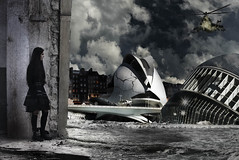 Greta @ Aftermath (Paolo Fugazzi) Tags: abandoned composite aftermath nikon conceptual brianza creativo d80 strobist sb900 yongnuo nikonclubit yn560