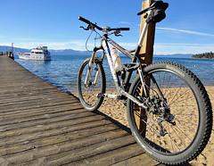 parking spot (Let There Be Snow) Tags: california cycling tahoe laketahoe mtb mountainbiking southlaketahoe