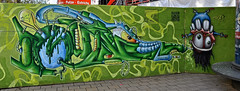 HH-Graffiti 1726 (cmdpirx) Tags: street urban color colour art public wall writing painting graffiti mural paint artist space raum wand character kunst strasse tag hamburg can spray crew hh writer hiphop hip hop piece aerosol bombing legal wildstyle knstler fatcap ffentlicher