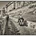 Jaipur IND - Amber Fort Elephant rides 01