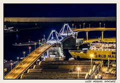 Puente (luismisax) Tags: barcelona longexposure night ngc nocturnas largaexposición montjüic canonef70200mmf4lisusm canon1dmarkiii