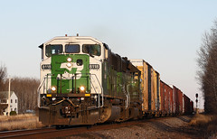 One more time (coborn35) Tags: bn bnsf sd60m 8118