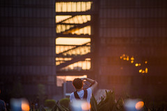 A great moment (Taipei street life) Tags: light sunset building campus photographer snapshot 台灣 taipeiuniversity 新北市 三峽區