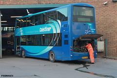 YORKSHIRE COASTLINER MALTON (P.J.S. PHOTOGRAPHY) Tags: yorkshirecoastlinerbussesdoubledecker