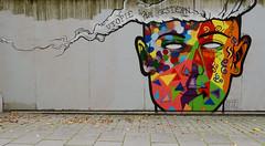 Utopia was yesterday (Ghost Hunter Frankfurt) Tags: streetart graffiti frankfurt visage basa