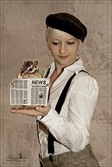 News (Schneeglöckchen-Photographie) Tags: news newspaper hamster zeitung