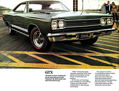 1968 Plymouth GTX (2) (Rickster G) Tags: 1969 car ads 1971 flyer 60s muscle satellite plymouth literature 1966 transit duster 1967 70s valiant belvedere 1970 1968 hemi mopar sales 1972 brochure cuda rapid barracuda 440 1973 fury rallye roadrunner compact 1964 1965 dealer 340 426 petty convertable superbird gtx 383 4406 sixbarrel scatpack