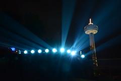 Skylon Tower (Dave_A_H) Tags: tower niagarafalls skylon skylontower floodlights niagarafallslights