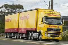 Roadstar Volvo (timstoys1) Tags: road newzealand truck side trailer canon7d linehaulunit