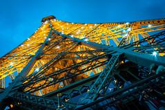Eiffel Tower Lightshow