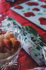 Christmas Table (Melsome.) Tags: christmas film canon vintage table mine curves decoration filter crackers christmasdinner