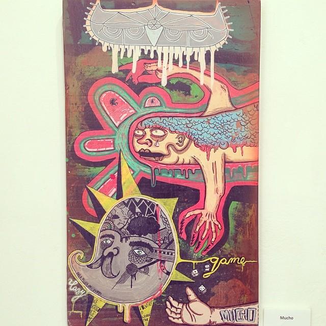 "Mucho • ""Colectiva de Fin de Año"" #art #arte #artinlima #arteenlima #gallery #galeria #brunogallery #muestra #artist #artista #pintura #painting"
