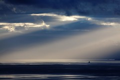 Cloudy Sunset on the Drake Passage (Carolyn Cheng) Tags: antarctica