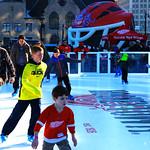 Xtraice ice rink at Hockeyville in Detroit thumbnail