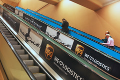 Entertainment, Woverine, Xman, UPS, for CinemaCon at Caesars Palace, Escalator Graphics