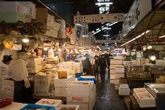 Tsukiji (4) (evan.chakroff) Tags: japan tokyo market fishmarket chuo tsukijimarket evanchakroff chakroff ksa2013 ksajapan ksajapan2013