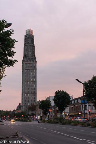 Fin de journée à Amiens