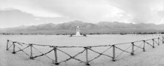 Manzanar fence (Amanda Tomlin) Tags: noblex acros pyrocathd