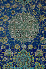 Wall mosaic (sherif khattab) Tags: architecture persian iran persia mosque ceiling carpets bazar jahan aliqapupalace isfehan naqshejahansquare