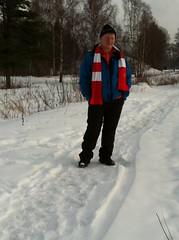 (Moniqas) Tags: winter snow liverpool support sweden ynwa karlskoga