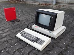 Deutsche Post IBM Btx-Vermittlungsstelle 22 (KlausNahr) Tags: btx bildschirmtext
