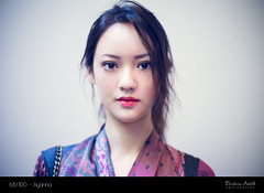 #68 -- Ayanna (barbasboth) Tags: portrait london girl fashion museum asian korean stylish streetstyle 100strangers