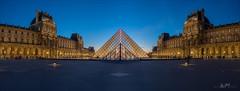Louvre (W.MAURER foto) Tags: panorama paris france night louvre nikond800