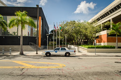 La brigade (Mickael Maurice) Tags: voyage travel usa cars vacances downtown cops miami police ciel floride etatsunis uscars voitureamricaine worldcars copscar