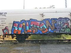 hilton (bored kids) Tags: train buh hilton crew freight watt 2014 fr8 mdk