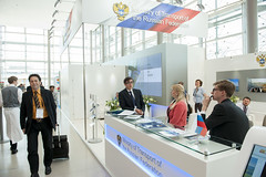 Stand of the Ministry of Transport of the Russian Federation