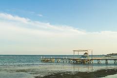 Belize-337 (Andrew Yianne) Tags: ocean sea beach sunrise canon landscape san belize pedro 7d caye caribbean ambergris