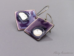Enamel earrings (Alery Accessories) Tags: silver handmade jewelry sterling earrings enamel