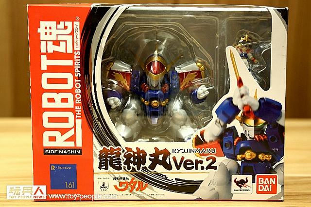經典作品《魔神英雄傳》再度回歸!ROBOT魂『龍神丸 Ver.2.0』開箱報告!~
