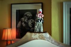 The world of the puppet as a microcosm of our own. (Benn Gunn Baker) Tags: street houses festival canon bristol community artist factory baker puppet clown north arts caroline southbank bedminster robots trail artists watson tobacco benn gunn 2014 southville 550d t2i