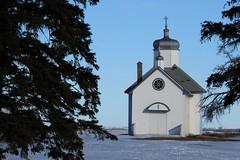 #45 I Forgot Farus! (LindaJ55) Tags: winter snow canada cold heritage history church canon countryside worship cross alberta dome p spiritual prairies backroads orthodox houseofworship ukrainiancatholicchurch
