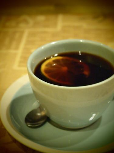 檸檬ジンジャーコーヒー