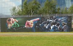 Frankfurt am Main: European Central Bank (zug55) Tags: germany deutschland graffiti mural hessen frankfurt frankfurtammain bce ecb hesse ezb europeancentralbank europischezentralbank banquecentraleeuropenne dosenkunst