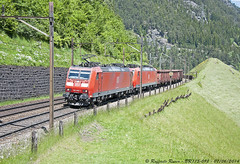 BR185-098 (Raffaele Russo (LeleD445)) Tags: railroad train swiss siemens rail db cargo ms fans freight spotting ac1 traxx schenker spotter wassen railfans br185