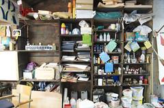 Bazar (erdeurien) Tags: art peinture vue 42 atelier artiste peintre 2014 r2rien