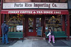 Porto Rico Coffee Importers, on Bleeker Street, NYC (peter and seija) Tags: nyc newyorkcity usa ny coffee manhattan greenwichvillage bleekerstreet coffeeimporters