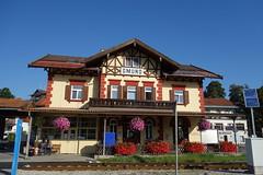 Bahnhof Gmund (O!i aus F) Tags: deutschland wandern wanderung alpen alpenberquerung tegernsee gmund bahnhof bahn sonne k5 osm explore