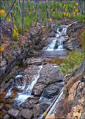 Chewuch Falls (@GilAegerter / klahini.com) Tags: nikon nikkor mountains climbing scrambling backpacking 2550mmf4ais cathedralpeak manualfocus manuallens