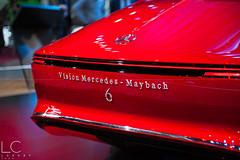 Vision Mercedes Maybach 6 (LCS - LuxuryCarsSport) Tags: vision mercedes benz maybach 6 red exception mondial de lauto lautomobile 2016