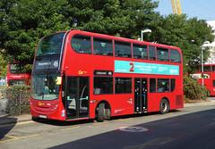 GAL EN26 - LK57EJO - NORTH GREENWICH STATION - WED 14TH SEPT 2016 (Bexleybus) Tags: go ahead goahead london north greenwich bus station adl dennis enviro 400 dn33502 en26 lk57ejo firstbus tfl route 486