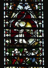 Angel Guarding the Tomb (Aidan McRae Thomson) Tags: york minster cathedral yorkshire stainedglass window medieval