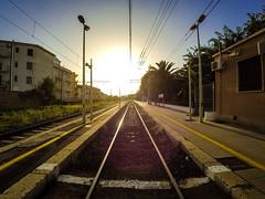 Capo D'Orlando, Stazione (Mancusomancuso) Tags: capo dorlando sicilia sicily messina stazione sun sole sunset