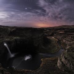 Palouse Falls Moonlight (jasonfdarr) Tags: palouse vancouver water washington palousewaterfall waterfall jasondarr